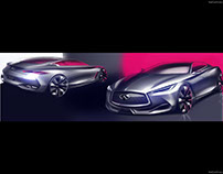 Infiniti Q60 Concept (2015): Exterior Design