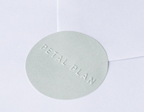 Petal Plan | Brand Identity, Print Collateral