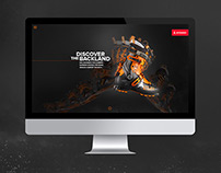 Atomic - Backland Microsite