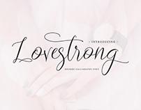 Lovestrong Script Font - Free Script Font