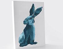 Portraits animaux à la gouache_Illustration
