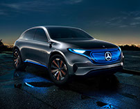 MERCEDES BENZ EQ | CONCEPT CAR