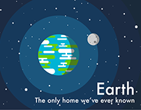 Earth: the only home we've ever known