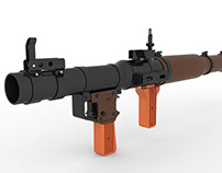 RPG Rocket Launcher