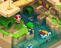 Mario 3D Land - Fan Art