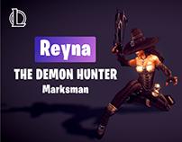 Reyna | League of Legends New Marksman | Concept
