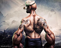 My new Popeye movie poster