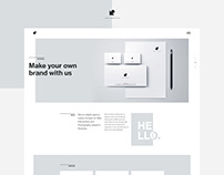 Design Creator Lab - Webdesign project