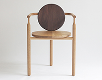 WONG wood chair