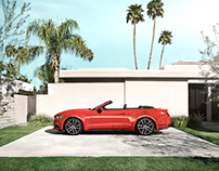 Ford Mustang In Palm Springs