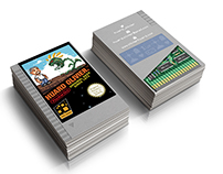 My Nes Cartridge Business Cards
