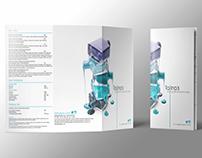 Talina's Nail Spa tri-fold brochure/menu
