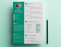 Personal CV/Resume Concept Design