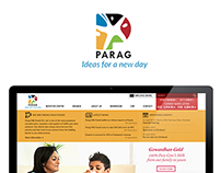Parag Website Design