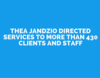 Thea Jandzio Directed Services To More Than 430 Clients