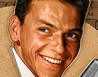 Magazine Illustration: Frank Sinatra