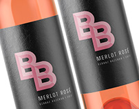 "Wine logo and label design for hungarian wines ""BB"""