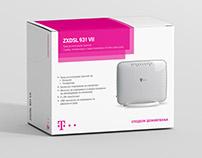 Telekom Macedonia Box product design + manual