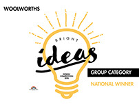 Woolworths Bright Ideas - Design Competition 2016