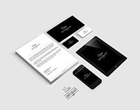 Corporate identity for Aura company