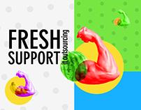 Fresh Support / Web App