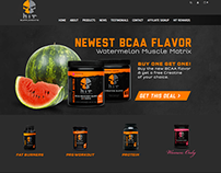 HIT Supplements website