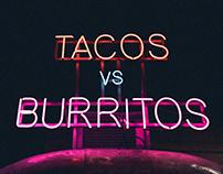 Tacos vs. Burritos by Mary Mickel