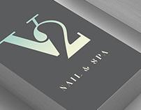 V2 Nail & Spa (logo)