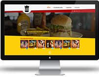 Web Site | Rei Arthur Hamburgueria Gourmet