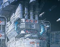 Infinite fleet / USF Station