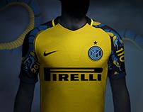 Inter 3rd Shirt | Yellow snake Concept