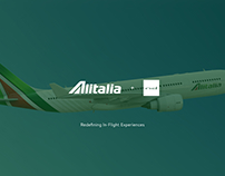 Alitalia In-Flight Entertainment System