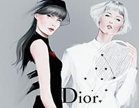 Dior girls