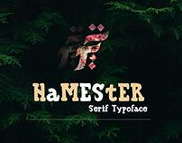 Hamester Typoface