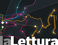 42 (kilometers) | La Lettura 309# dataviz