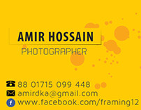 Business Card for Photographer