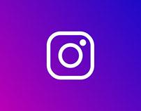 Instagram UI concept design