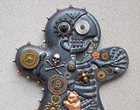 Clockwork Ginger Skelly