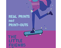The Little Friends of Printmaking Poster