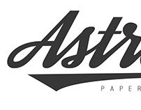 Astra Paperfree logo design