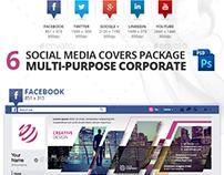 Modern 6 Social Media Cover Design