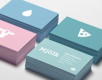 LRF Mjölk - graphic identity and responsive webb