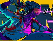 Neon Mononoke