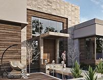 Simple modern villa