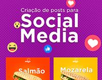 Criação de posts para Media Social