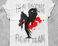 T-shirts designs for fighters
