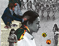 Iracema - Colagens/ Collages