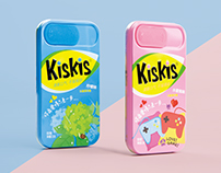 KisKis - Twins Mint Candy Packaging