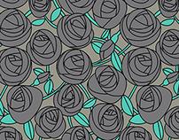Textile illustration for Popinjay