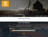 Al Watanya Logistics company website